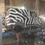 Техцентр УАЗ777 наши работы: УАЗ Патриот Zebra (2)