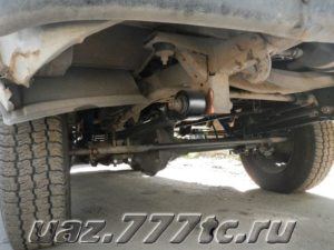 Техцентр УАЗ777 наши работы: УАЗ Буханка ремонт подвеcки (2)