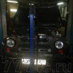 Техцентр УАЗ777 наши работы: УАЗ Хантер гидроудар (1)