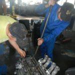 Техцентр УАЗ777 наши работы: УАЗ Хантер гидроудар (4)