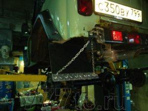 Техцентр УАЗ777 наши работы: УАЗ Хантер Офроуд (8)