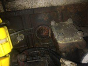 Заглушки БЦ, помпы и патрубка отопителя (3)