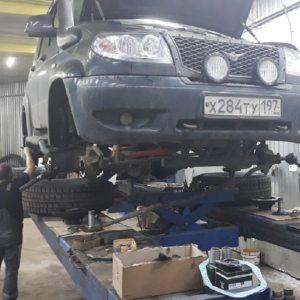 Техцентр УАЗ777 наши работы: УАЗ Патриот ремонт (1)