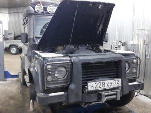 Техцентр УАЗ777 наши работы: Дефендер ремонт (3)