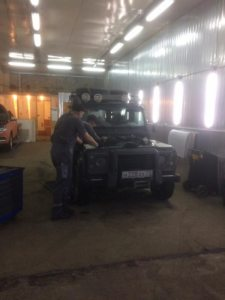 Техцентр УАЗ777 наши работы: Дефендер ремонт (5)